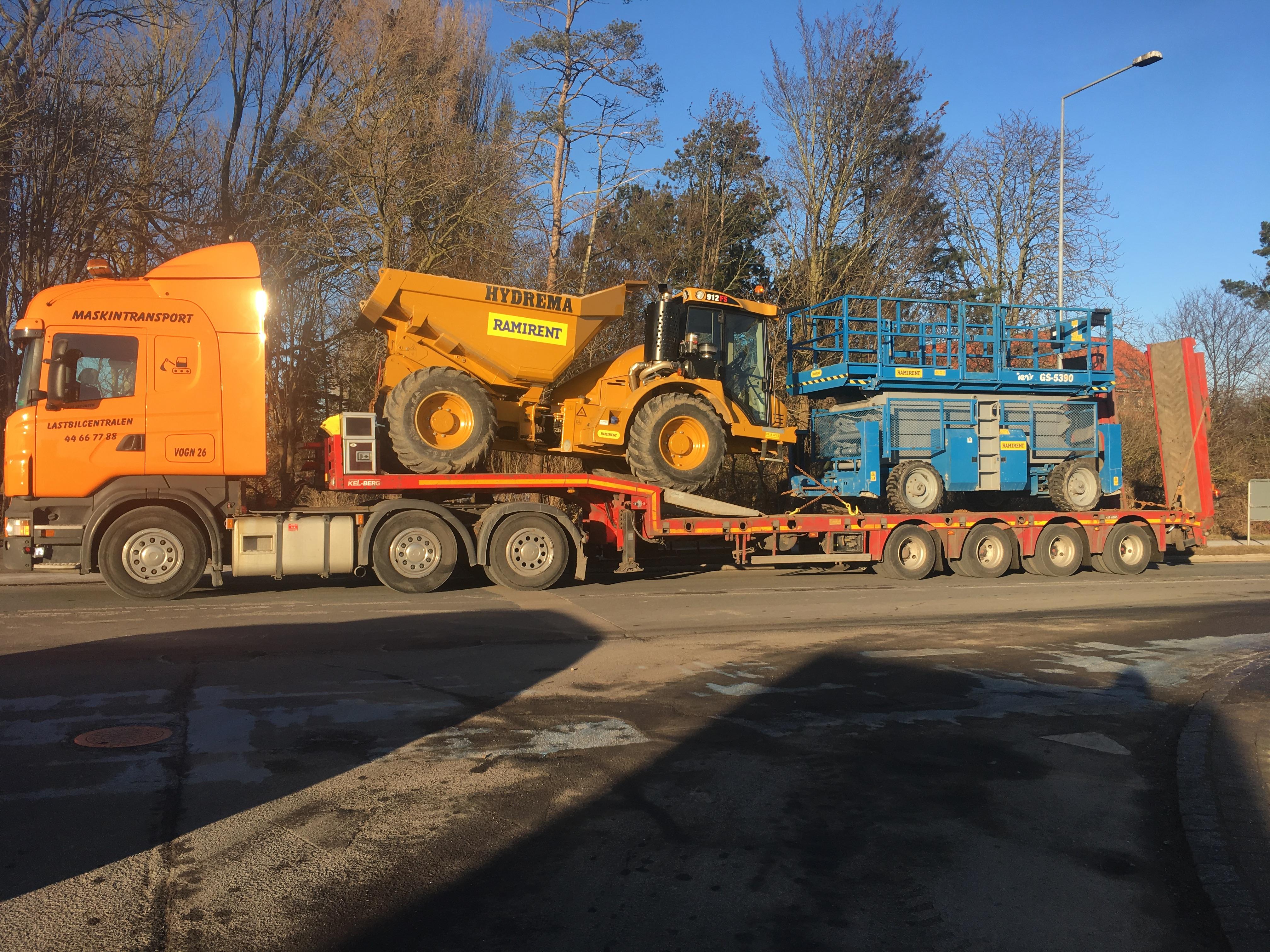 Vg 26 Hurtigløber med Saxlift og Dumper